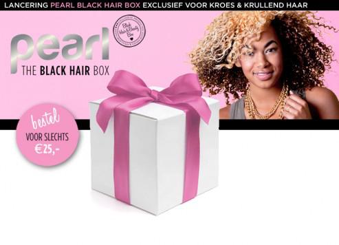 Pearl Black Hair Box