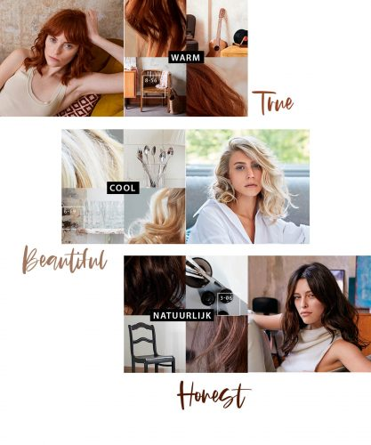Authentieke, natuurlijke haarkleuren - True, Beautiful & Honest