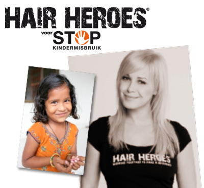 Ga naar de kapper en steun de strijd tegen kindermisbruik!