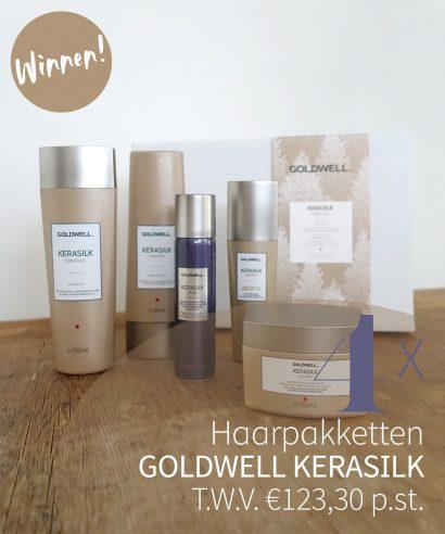 WINNEN: 4x Goldwell Kerasilk Control pakketten