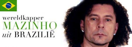 Wereldkapper Mazinho uit Brazilië