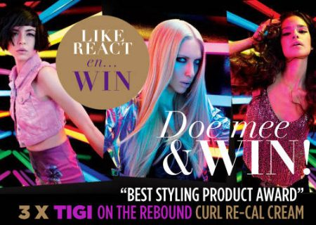 WINNEN! TIGI On The Rebound Cream
