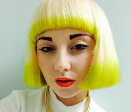 VRAAG: mijn blonde haar is geel/oranje geworden!