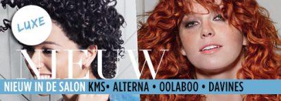 NIEUW in de salon: kleurmasker, haarpoeder & spullen voor krullen