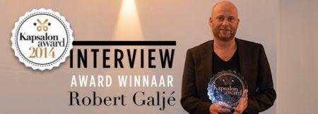 Kapsalon Award winnaar Robert Galjé