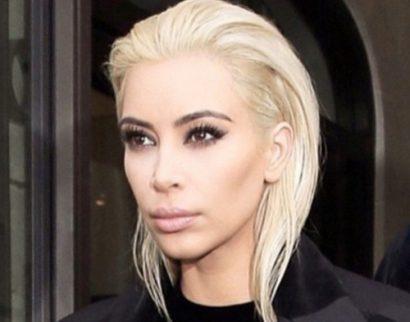 Kim Kardashian & Celebs van brunette naar blondine