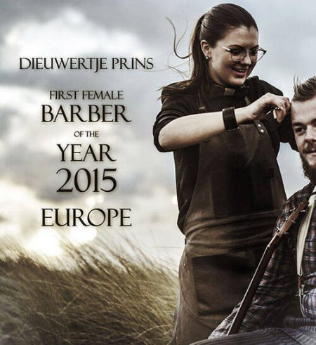 De 'Barber of the Year' is een vrouw!