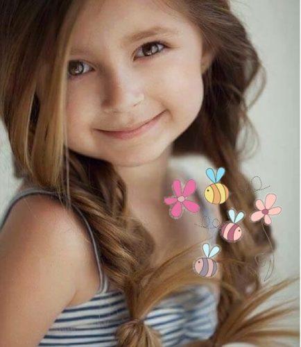 Zoete kinderkapsels voor Kleine Prinsesjes
