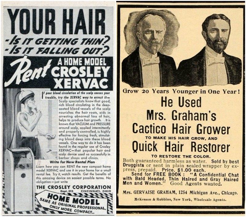 Vintage-bald