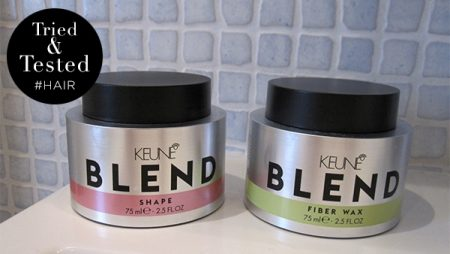 Sandra test de vernieuwde Keune Blend Wax & Shape