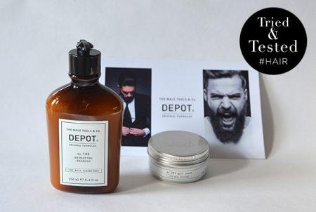 Getest in de barbershop: nieuwe producten van Depot