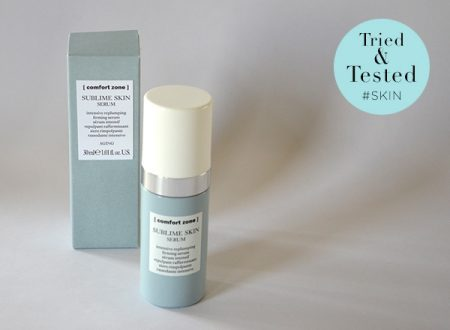 Comfort Zone Sublime Skin Serum getest