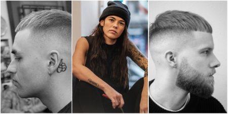 Mannenkapsels van 'barbier' Leah Hayden