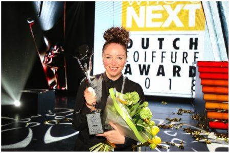 Bianca van Zwieten verrassende winnaar Coiffure Award 2018