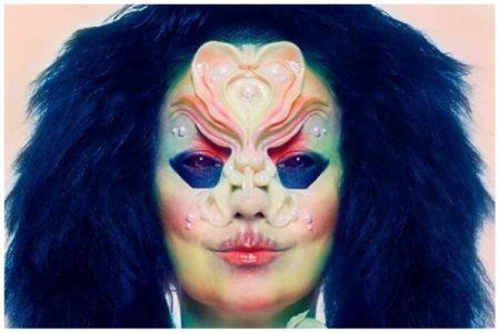 Kunstwerkjes van de make-upartist van Björk