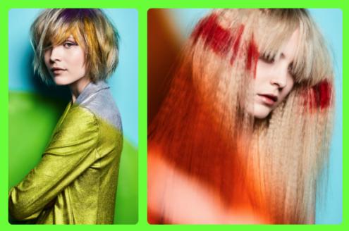 Neon-hair