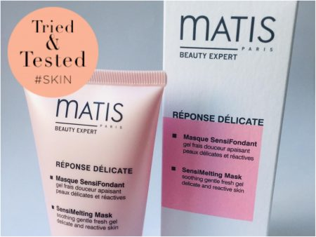 Matis Paris SensiMelting mask voor een soepele, gehydrateerde huid