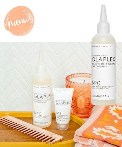 Nieuw: Olaplex No.0 Intensive Bond Building Hair Treatment Kit