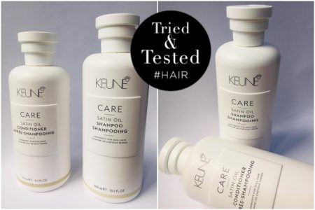 Keune care satin oil shampoo en conditioner voor gezond en glanzend haar