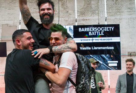 Winnaar Barber Battle komt uit Griekenland!
