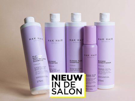 Nieuw in de salon: NAK Hair Blonde treatments