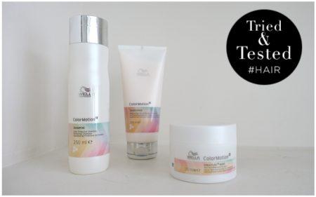 Getest: ColorMotion+ shampoo, conditioner en mask