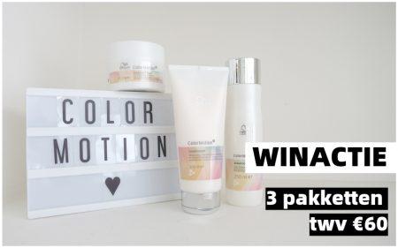 WINACTIE | 3 ColorMotion+ Pakketten twv €60!