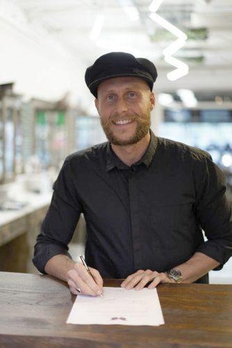 Joost Mulleman blijft Ambassadeur SEB MAN!