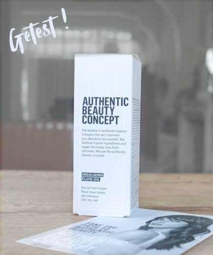 Getest: Indulging Fluid Oil van Authentic Beauty Concept