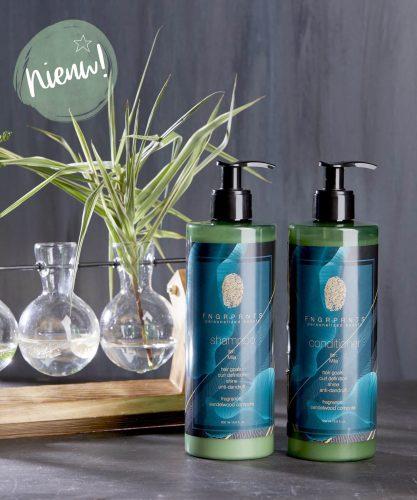 F N G R P R N T S: Bestel jouw persoonlijke shampoo en conditioner!