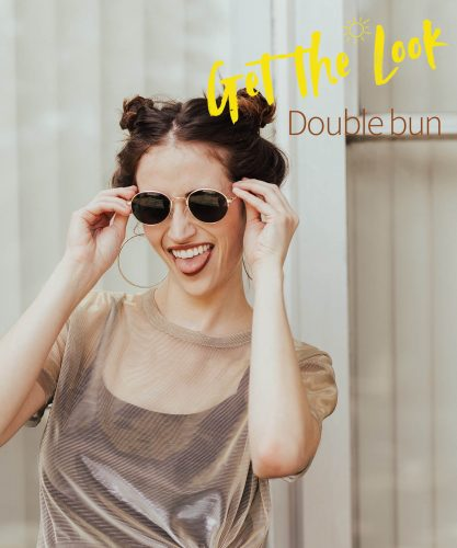 Get the Look: Dutch summer - double bun