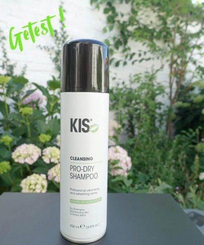 Getest: KIS Haircare Pro dry shampoo