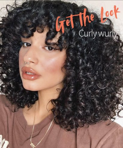 Get the Look: Curly Wurly
