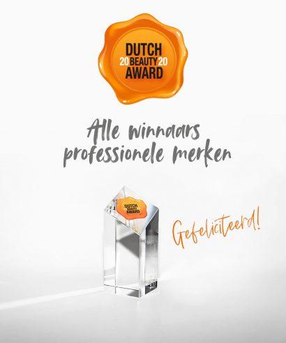 Dutch Beauty Award 2020: de professionele winnaars