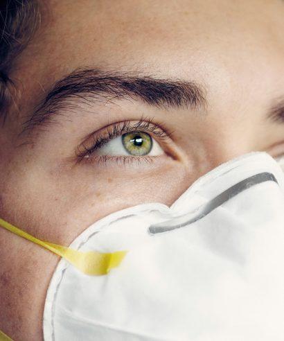 Wat doet een mondkapje met je huid?