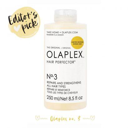 Editor's pick: Olaplex No. 3 Hair Perfector
