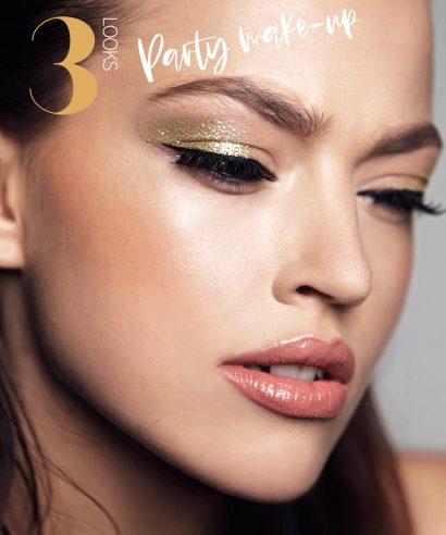 Howto: 3x Glamour make-up voor de feestdagen