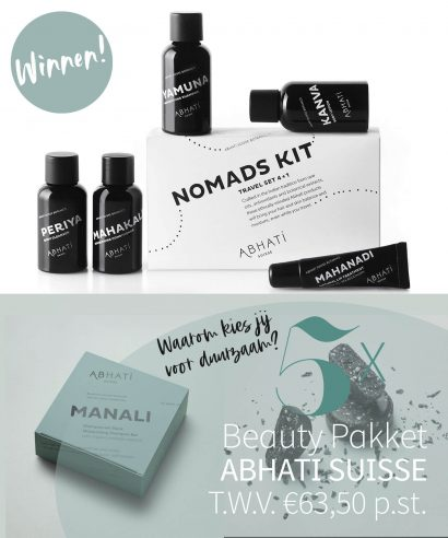 WINNEN: 5x Abhati Suisse pakket