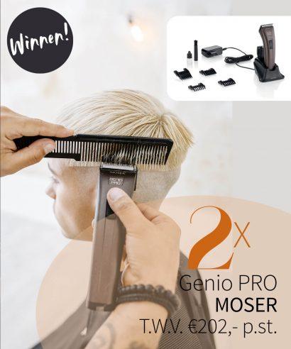 WINNEN: 2x Moser Genio Pro