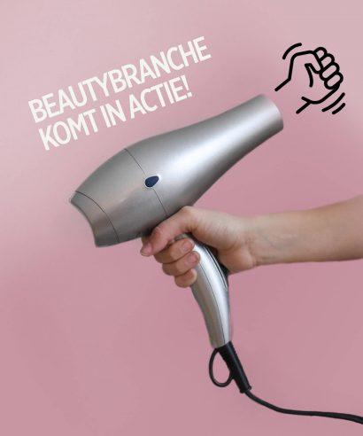 In actie om de beautybranche te redden