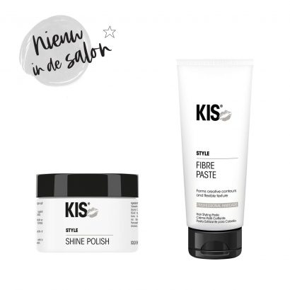 Nieuw in de salon: KIS Shine Polish & Fibre Paste