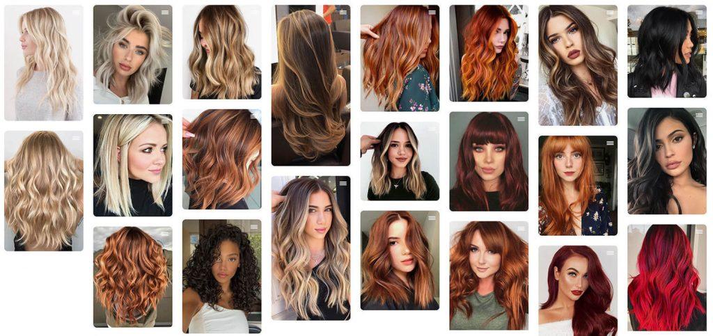 bruin blond rood haar