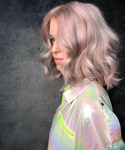Haarkleur wordt altijd mooier nadat het gekleurd is