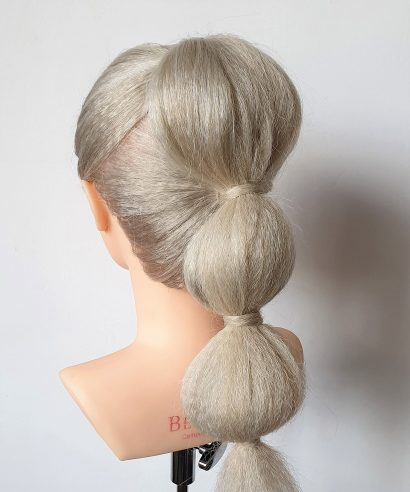 Howto: Bubble Ponytail in 4 stappen