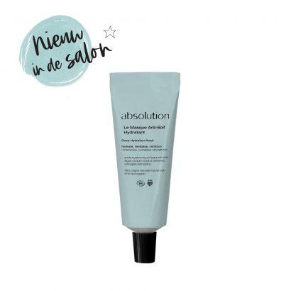 Nieuw in de salon: Absolution Le Masque Anti-Soif Hydratant