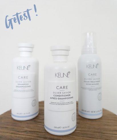 Getest: Keune Silver Savior shampoo, conditioner & leave-in foam