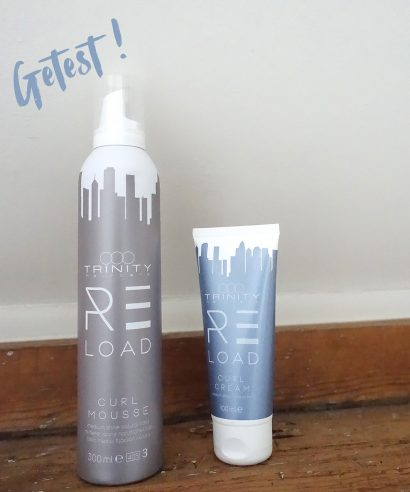 Getest: Trinity re:LOAD Curl Mousse & Curl Cream