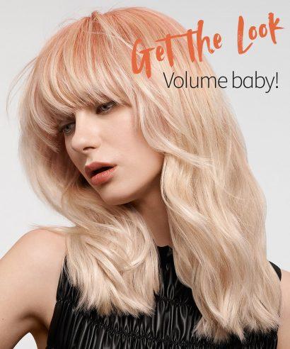 Get the Look: Volume, baby!