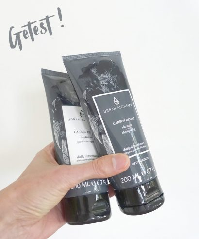 Getest: Urban Alchemy Carbon Detox Shampoo & Conditioner