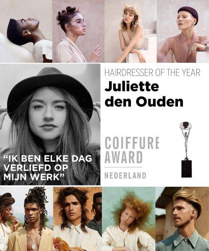 Dit zijn de winnaars Coiffure Award 2020/21